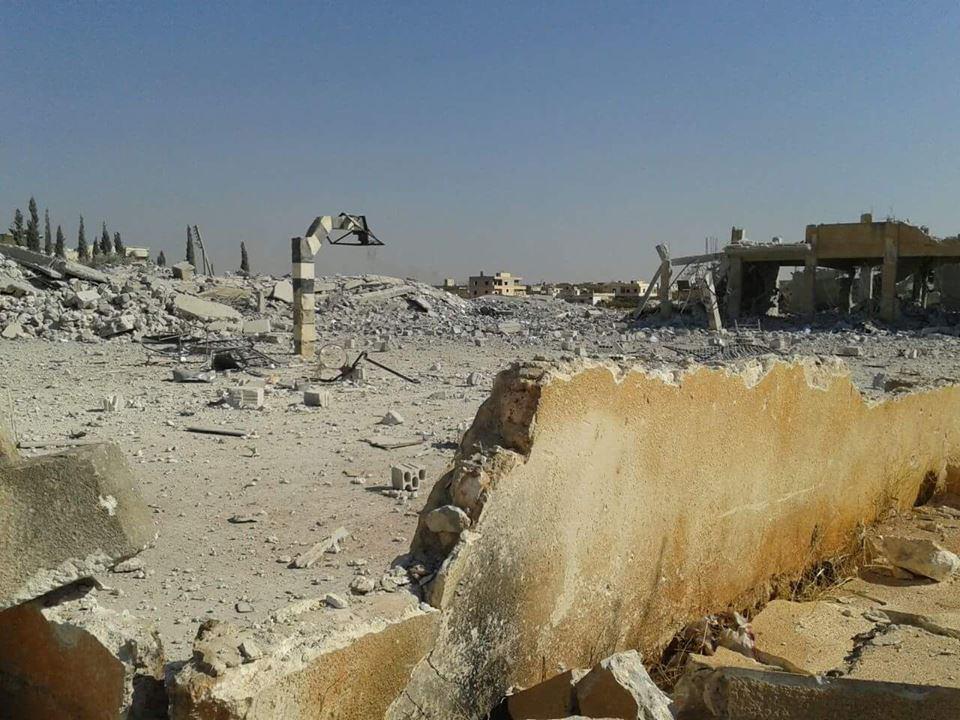 تصویر اعلام آتشبس شش ماهه در زبدانی و شهرکهای الفوعه و کفریا در سوریه