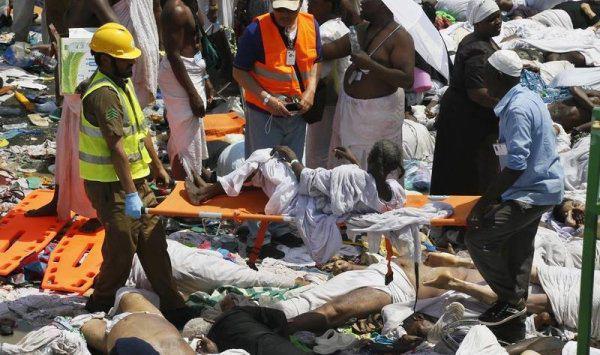 تصویر پنهان کاری عربستان در مورد علت اصلی فاجعه ی منا