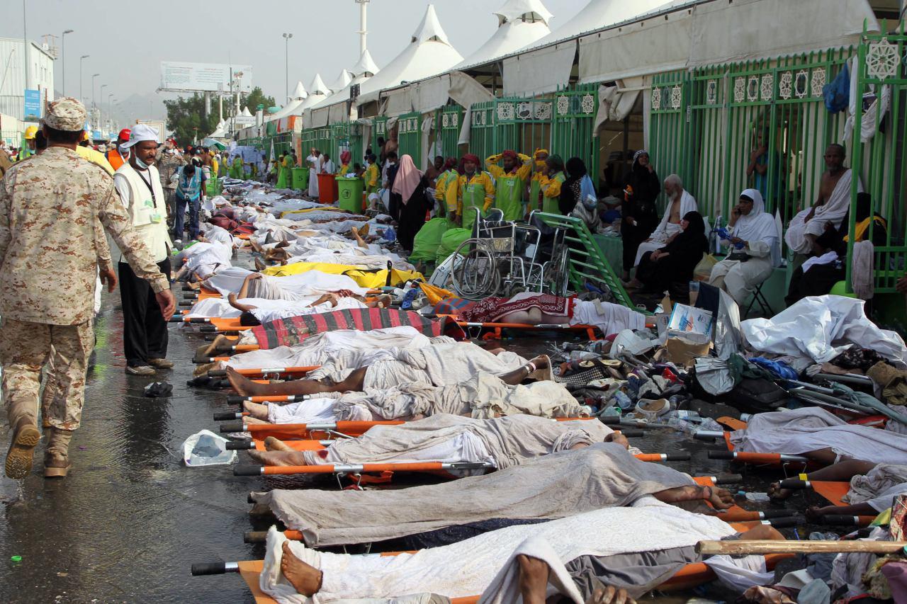تصویر پیام سازمان دیده بان حقوق شیعیان جهان، در باره فاجعه ی منا