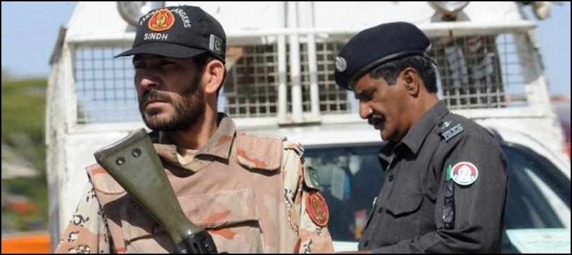 تصویر انفجار تروریستی در جنوب پاکستان