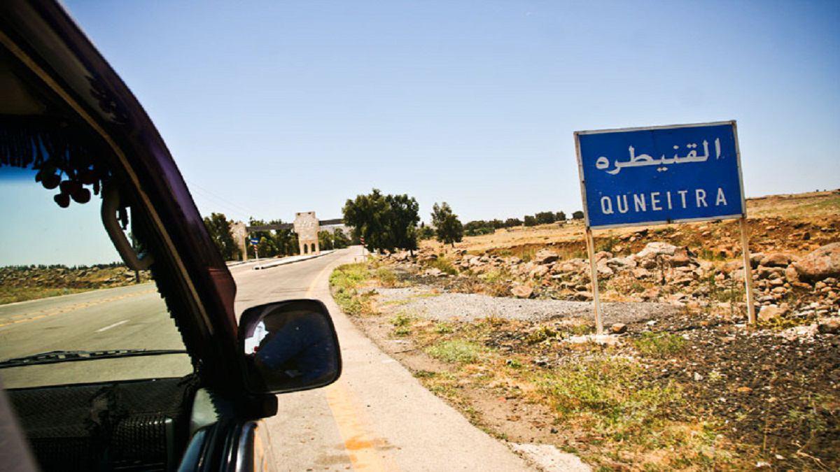تصویر پیشروی جدید ارتش سوریه در استان قنیطره