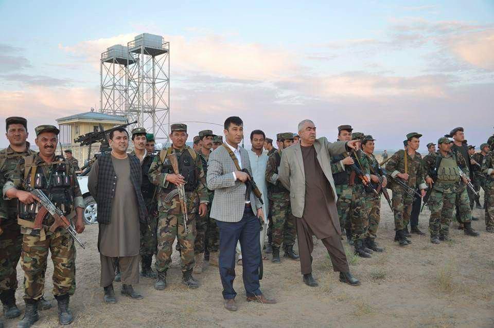 تصویر خیزش مردمی علیه گروه های تروریستی، در ولایت بادغیس افغانستان