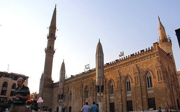 تصویر دولت مصر مسجد رأس الحسین علیه السلام را در ایام تاسوعا و عاشورا تعطیل کرد