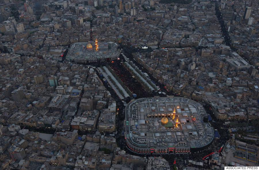 تصویر حضور بيش از هفت میلیونی زائران کربلا در عاشورای امسال
