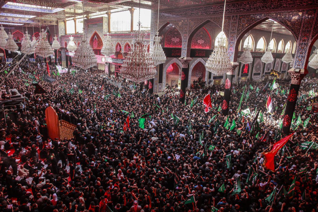 تصویر قدردانی بنیاد جهانی آیت الله العظمی شیرازی، از تلاش های صورت گرفته برای احیای شعائر حسینی درروزعاشورا