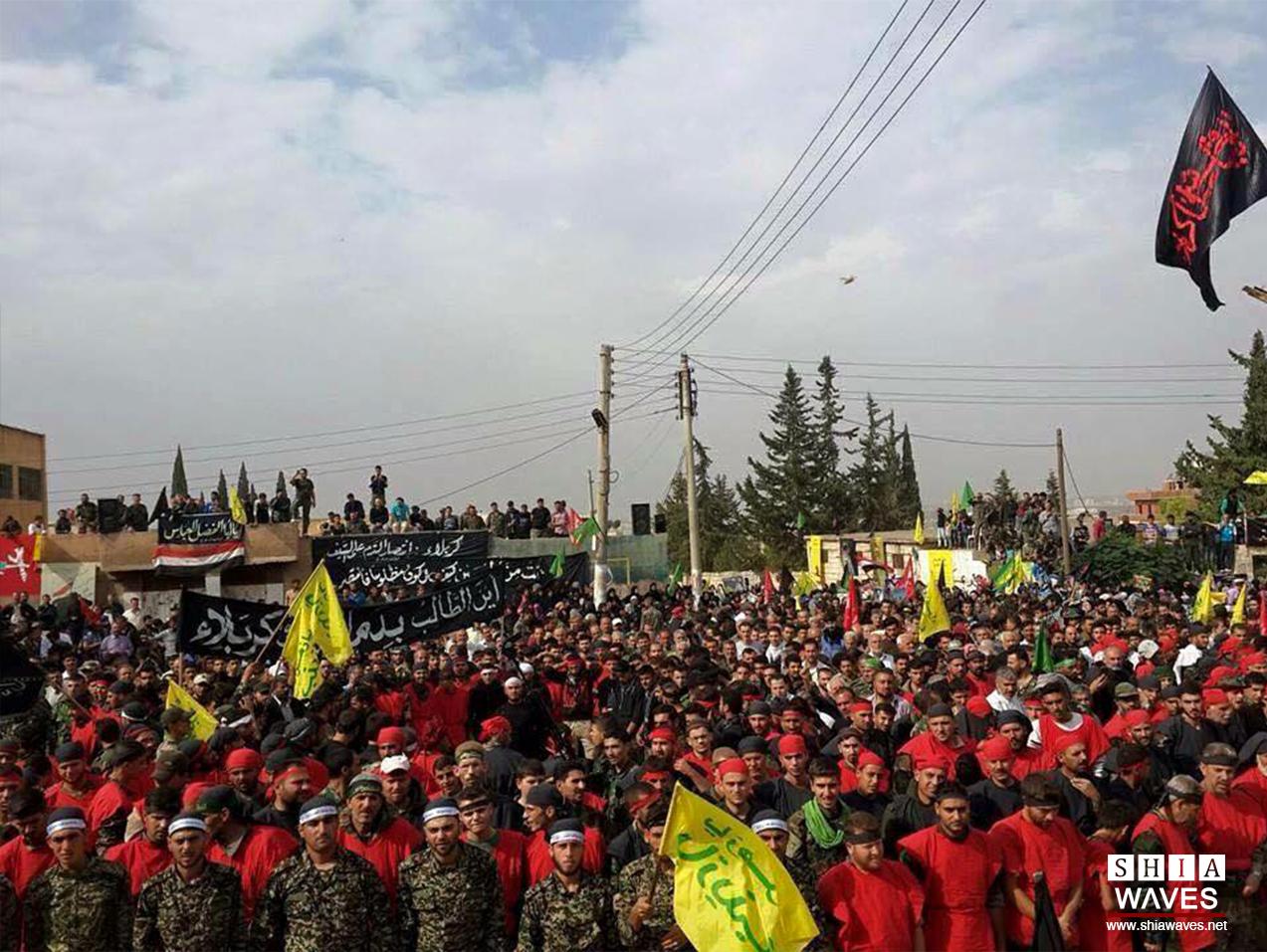 تصویر گزارش تصویری ـ جهان در عزای سید و سالار شهیدان سوریه