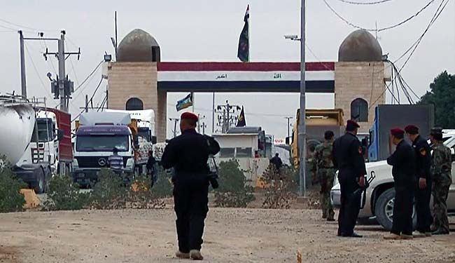 تصویر آمادگى سه مرز زمينى بين ايران و عراق، براى تردد زائران اربعين