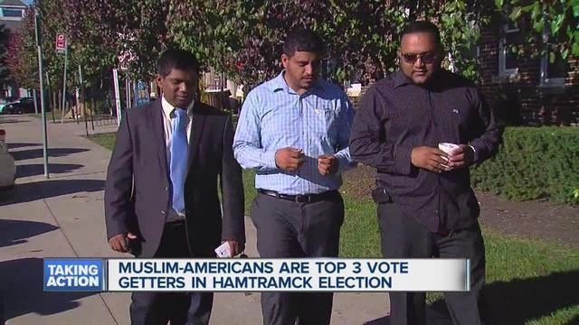 تصویر مسلمانان، اکثریت شورای شهر «همترامک» آمریکا را کسب کردند