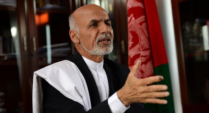 تصویر محکومیت قتل شیعیان هزاره، از جانب رئیس جمهور افغانستان