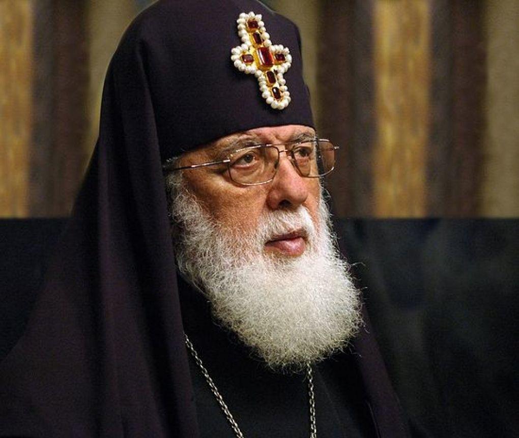 تصویر رهبر کلیسای ارتدوکس گرجستان: اقدامات ترویستی ربطی به دین اسلام ندارد