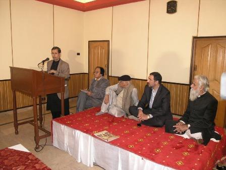 تصویر برگزاری محفل شعر «مسالمه حسینی» در راولپندی پاکستان