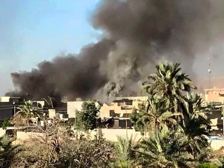 تصویر ادامه حملات نیروهای پیشمرگه کرد، به شهر شیعه نشین «طوزخرماتو» در عراق