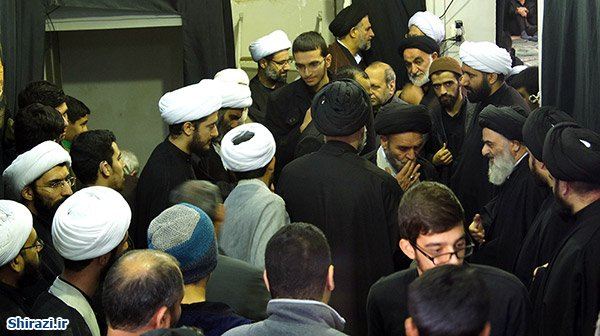 تصویر گزارش تصویری ـ شهادت حضرت امام حسن مجتبی علیه السلام در بیت آیت الله العظمی شیرازی