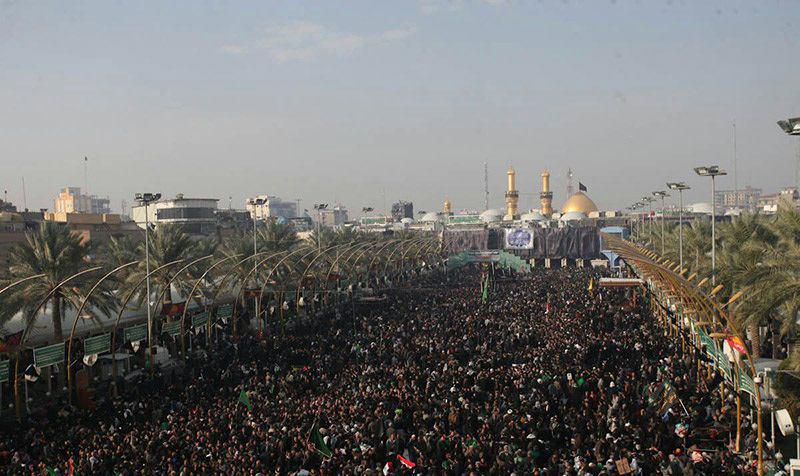 تصویر جزئیات نظارت آستان حسینی بر مراسم اربعین