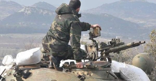 تصویر آزاد سازى مناطق راهبردى حومه لاذقيه، به دست نیروهای سوری