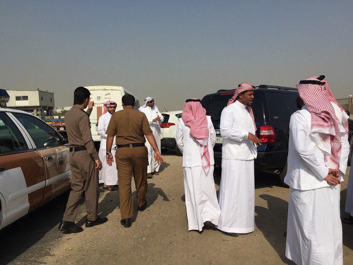 تصویر هتک حرمت زائران عربستانی اربعین، توسط ماموران سعودی