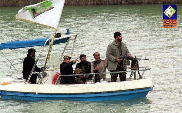 تصویر در آستانه شهادت امام عسکرى عليه السلام صورت گرفت؛ برقراری امنیت در سامرا با آماده باش کامل حشد شعبی