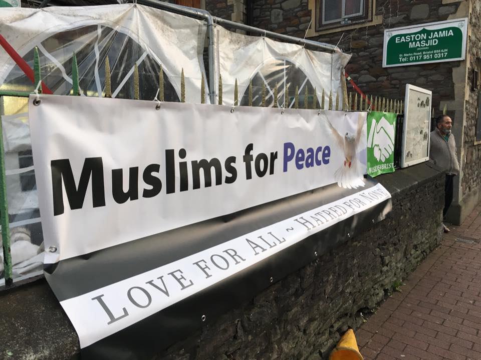 تصویر اقدام مسلمانان بریستول انگلیس، به یاری بیخانمانها، در آستانه میلاد حضرت مسیح علیه السلام