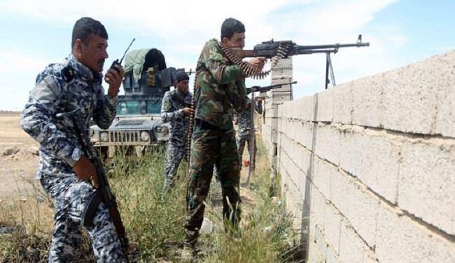 تصویر آزاد سازی منطقه النعیمیه در غرب فلوجه عراق