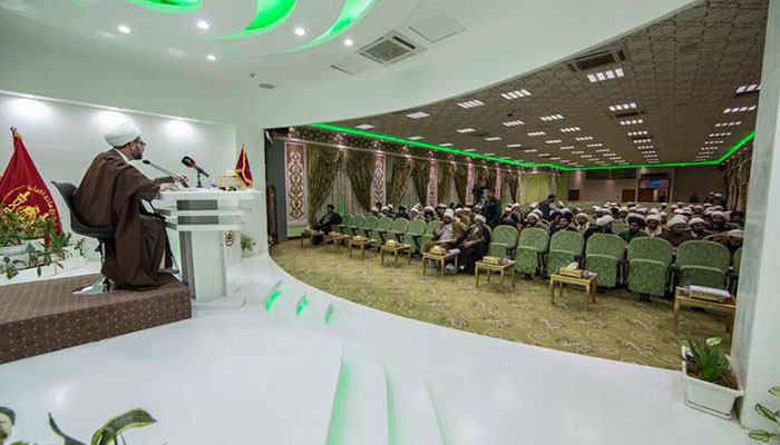 تصویر راه اندازی طرح «مبلغ الکترونیکی» برای گسترش آگاهی دینی توسط آستان قدس حسینی