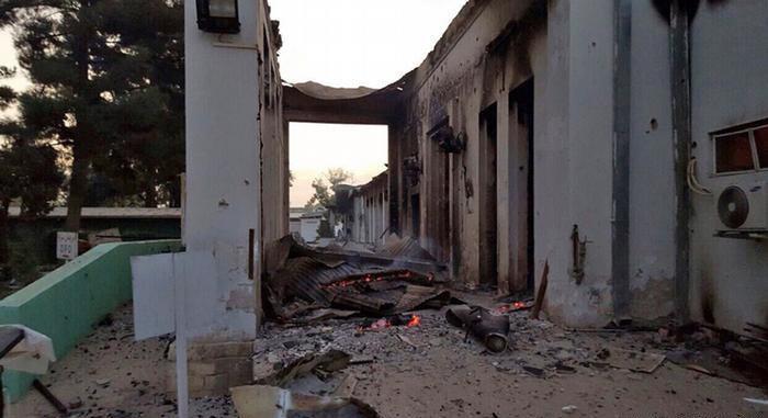 تصویر جان باختن یا مجروح شدن ۸۴۸ غیرنظامی افغان در درگیری های شهر قندوز، بر اساس گزارش سازمان ملل