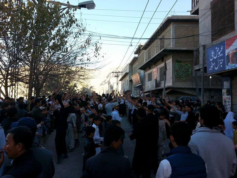 تصویر گزارش تصویری ـ مراسم عزاداری اربعین حسینی در کشور پاکستان