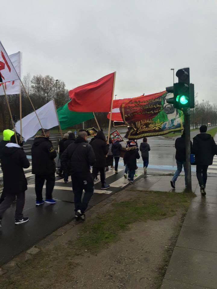 تصویر گزارش تصویری ـ مراسم عزاداری اربعین حسینی در کشور دانمارک