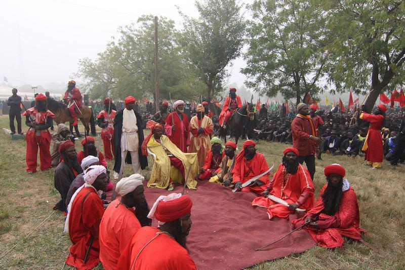 تصویر گزارش تصویری ـ مراسم عزاداری اربعین حسینی در کشور نیجریه