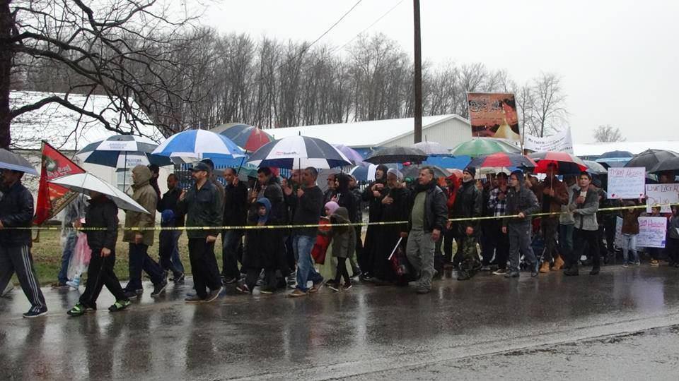 تصویر گزارش تصویری ـ مراسم عزاداری اربعین حسینی در کنتاکی آمریکا