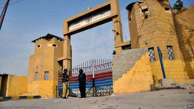 تصویر اعدام 172 فرد متهم به اقدامات تروریستی در پاکستان
