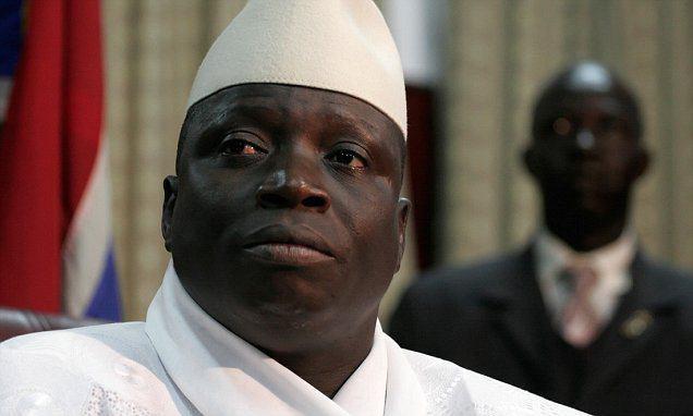 تصویر اعلام تغییر نظام حکومتی کشور گامبیا به جمهوری اسلامی ، از سوی رئیس جمهوری این کشور