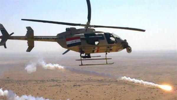 تصویر خنثی سازی برنامه حمله موشکی عناصر تروریستی به  سامرا