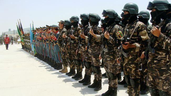 تصویر تشكيل نیروی ویژه برای مبارزه با تروریست های داعش، در افغانستان