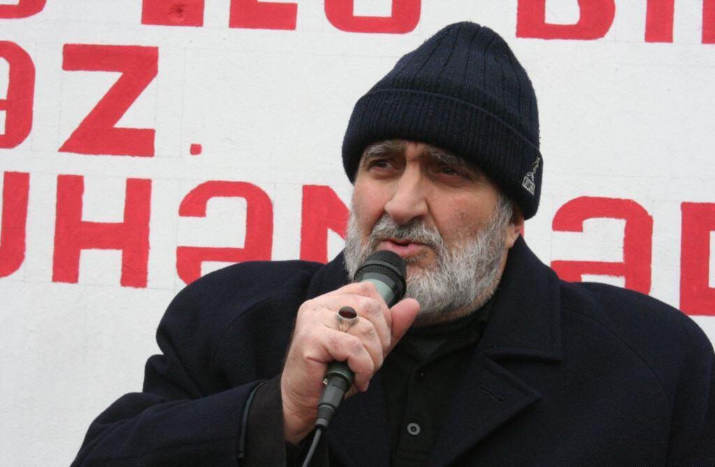 تصویر بازداشت رییس شورای ریش سفیدان نارداران جمهورى آذربايجان