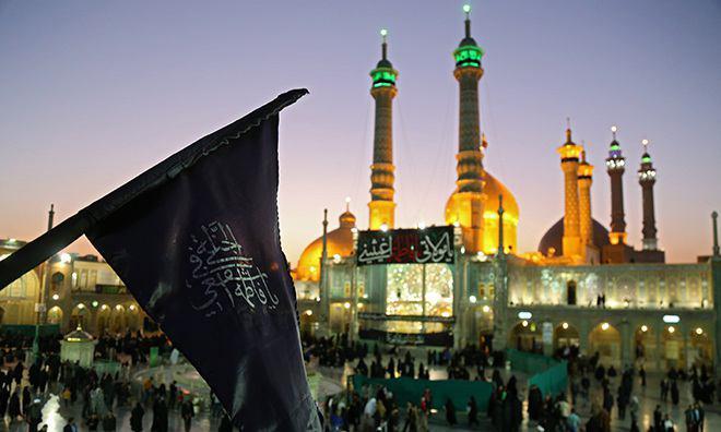 تصویر گزارش تصویری ـ عزاداری مردم قم در شب شهادت حضرت فاطمه معصومه سلام الله علیها