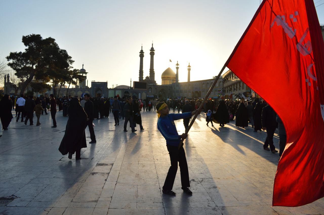 تصویر گزارش تصویری ـ عزاداری شیعیان قم به مناسبت شهادت حضرت معصومه سلام الله علیها