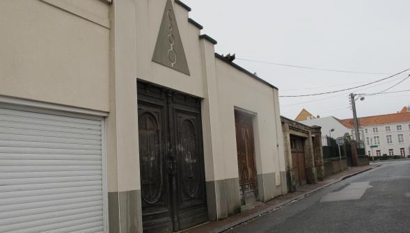 تصویر هتک حرمت مسجدی در شمال فرانسه