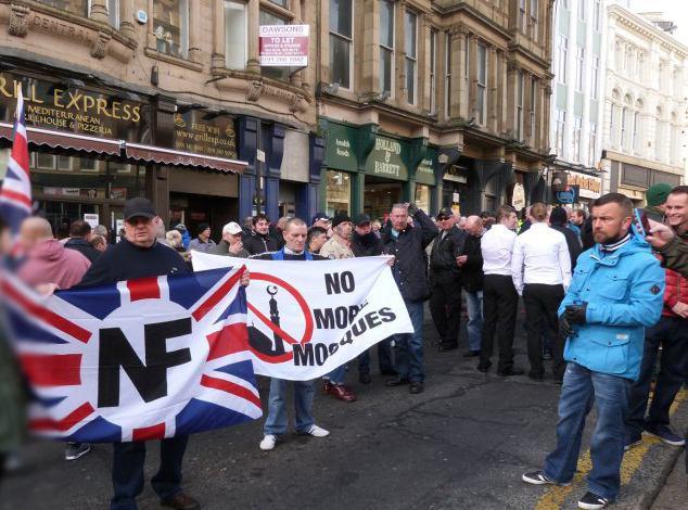 تصویر راستهای افراطی بریتانیا به دنبال حملات بیشتر علیه مسلمانان