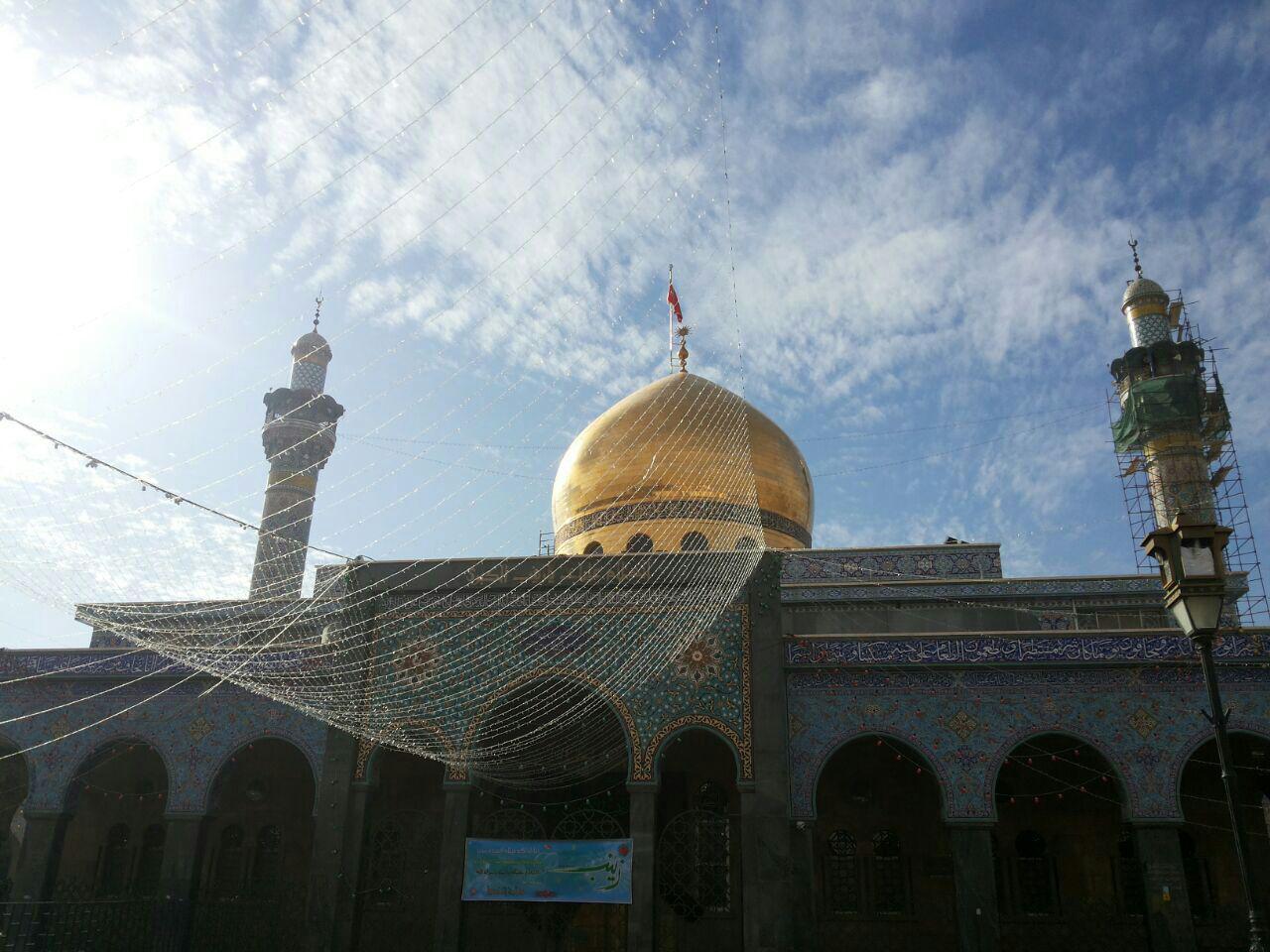 تصویر گزارش تصویری ـ تصاویر جدید از حرم حضرت زینب سلام الله علیها