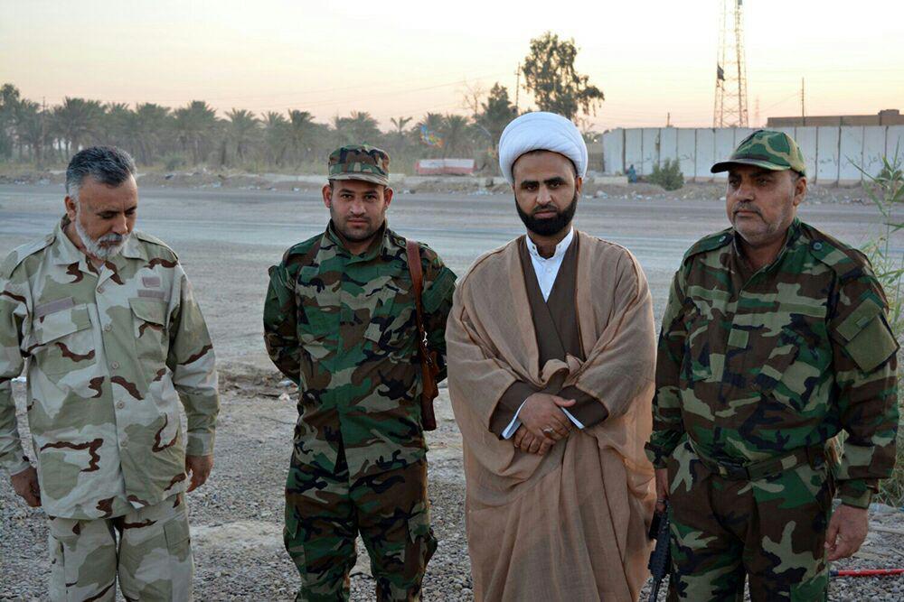تصویر ارسال کمکهای غیر نقدی به نیروهای مدافع عتبات در صلاح الدین عراق