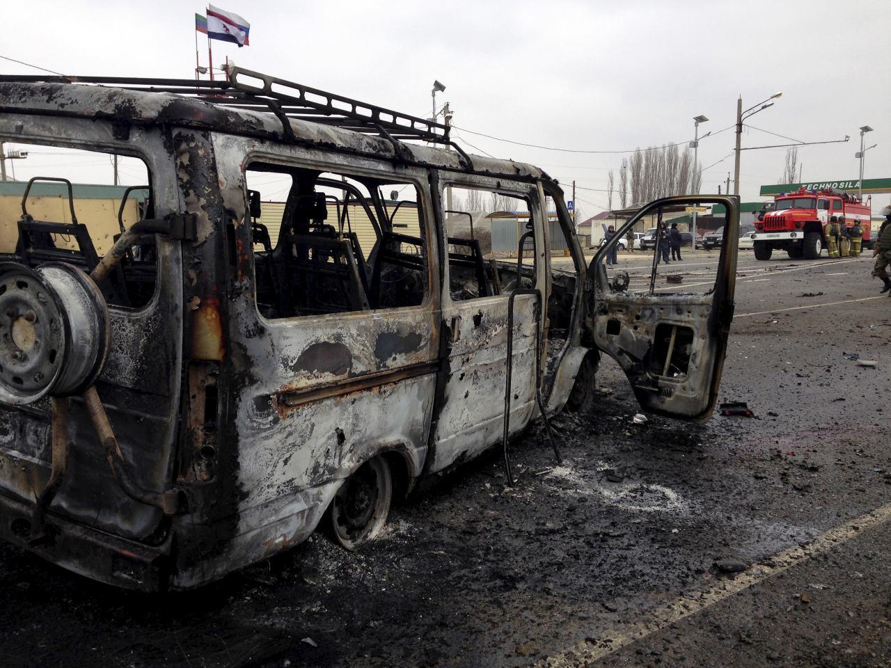 تصویر انفجار انتحاری در تنها شهر شیعه نشین روسیه