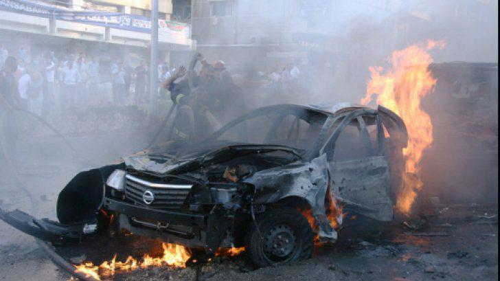 تصویر وقوع انفجار تروریستی در جنوب بغداد
