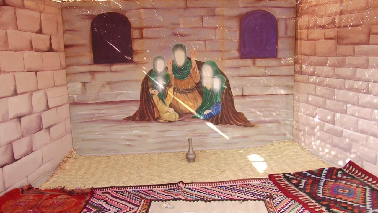 تصویر فعاليت هایی متنوع در شهر مقدس كربلا، برای بزرگداشت ايام فاطميه