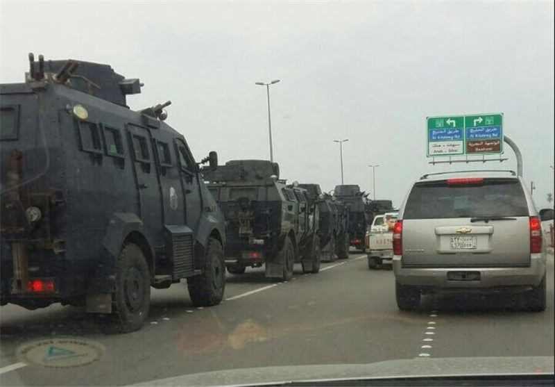 تصویر یورش نظامیان سعودی به منطقه شیعه نشین العوامیه