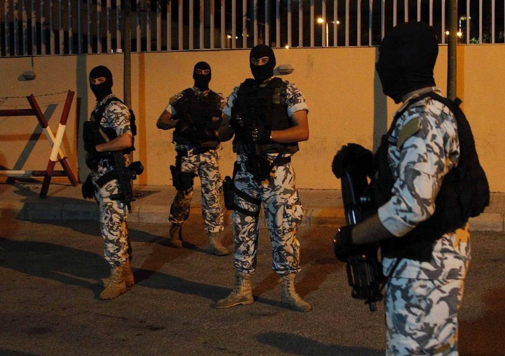تصویر هسته تروریستی داعش در طرابلس لبنان منهدم شد