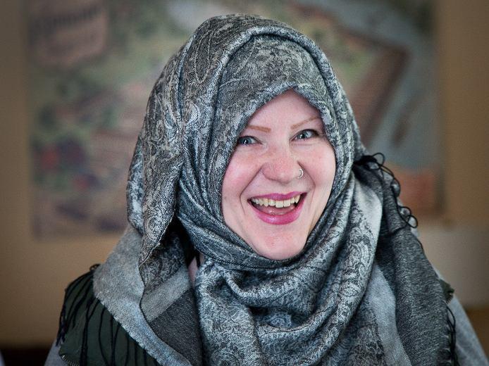 تصویر گرامیداشت روز همبستگی با حجاب در اتاوا