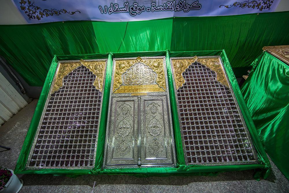 تصویر گزارش تصویری ـ نمایشگاه ضریح جدید حضرت عباس علیه السلام در شهر مقدس کربلا