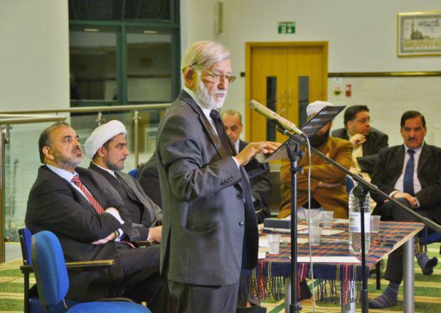 تصویر در انگلستان برگزار شد، نشست صلح به منظور تغییر چهره اسلام در غرب