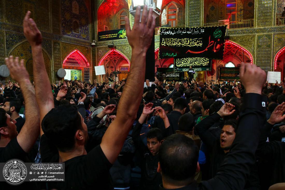 تصویر طرح امنیتی یکپارچه در شهر مقدس نجف به مناسبت سالروز شهادت حضرت فاطمه