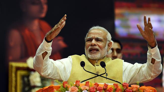 تصویر محرومیت مسلمانان هند از شرکت در انتخابات